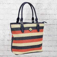 Refresh Frauen Hand-Tasche 82971 blau rot Damen Handbag Ladies Womens Bag