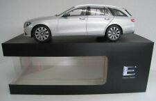 Mercedes-Benz E-Klasse T-Modell  in iridiumsilber  iScale  Maßstab 1:18  NEU OVP
