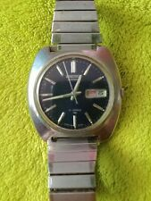 Vintage Seiko 7006-7007 Automatic Day-Date Watch 17 Jewels. Works great
