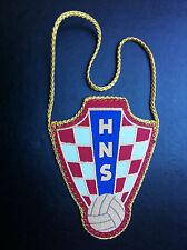 CROATIA - HNS - CROATIAN FOOTBALL FEDERATION - Hrvatski nogometni savez - flag !
