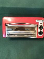 New ListingHamilton Beach 22703H Toastation Oven Extra Wide Slice Toaster Combination Red