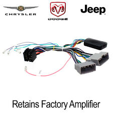 ctsch00c CHRYSLER DODGE JEEP VERSTÄRKER Turn on Interface, Lenkradsteuerung