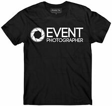 PHOTOGRAPHER t-shirt, Event photographer shirt GLOW IN THE DARK, Event t-shirt