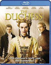 NEW BLU-RAY // The Duchess // Keira Knightley, Ralph Fiennes, Charlotte Rampling