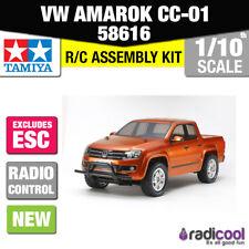 58616 TAMIYA VW AMAROK 4WD PICK UP TRUCK CC-01 R/C KIT 1/10th RADIO CONTROL