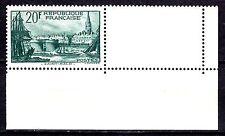 France - 1938 Definitives views - Mi. 415 corner piece MNH