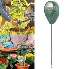 Soil Water Moisture Light Meter Tester Kit Garden Plant Temp Sensor Tool Digital