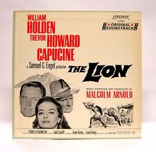 The Lion (OST) LP RARE 1st Pressing 1962 Blue Back London M 76001 Malcolm Arnold