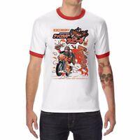 Ramen Rider funny t shirt Ringer Cotton Short Sleeve sport t-shirt for men tee