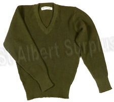 Canadian Army Wool Commando Sweater - Vintage 1976 - New - Small - 451Kg