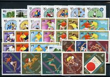 [G27393] Mongolia : Good Lot of Very Fine MNH Stamps