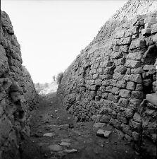 BABYLONE c. 1960 - 4 Négatifs Emplacement Tour de Babel- Négatif 6 x 6 - IRAK 21