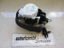 FORD FIESTA 1.2 BENZ 5P 5M 60KW (2010) RICAMBIO CINTURA DI SICUREZZA POSTERIORE