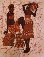 African Themed Batik Wall Hanging Cloth
