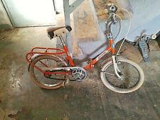 Biciletta vintage da bimbo tipo graziella, molto rara.