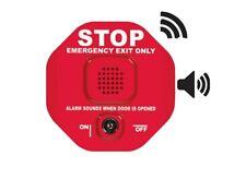 Safety Technology International STI-6400WIR4 Wireless Exit Stopper Door Alarm