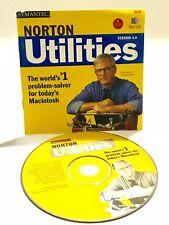 Norton Utilities 4.0 Mac-Problem Solving Software For Macintosh
