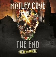 MOTLEY CRUE – THE END LIVE IN LOS ANGELES 2x Vinyl LP & DVD (NEW) Mötley Crüe