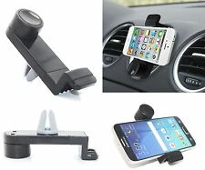 Mobile Cell Phone Car Air Vent Holder Cradle Mount Portable For iPhone Samsung