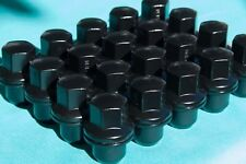 Black Land Rover Range Rover Lug Nuts 20 For LR3 LR4 HSE Supercharged Sport Lugs