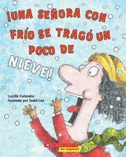 Una Senora Con Frio Se Trago Un Poco De Nieve!/The