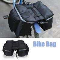 Bicycle Pannier Bag Rear Seat Rack Waterproof Cycling Bike Storage Bag