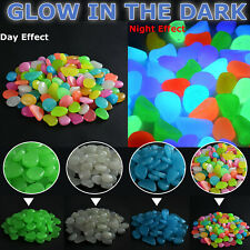 500 Brilha No Escuro Pedras Seixos Luminoso Jardim exceção Para Aquário