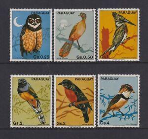 Paraguay - 1983, Birds set - MNH