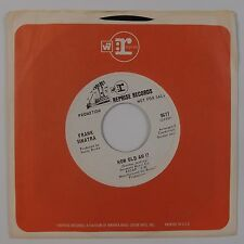 FRANK SINATRA: How Old Am I? / I Can't Believe '68 Reprise WLP Promo 45 NM Vocal