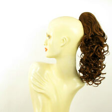 Hairpiece ponytail curly golden brown copper 15.75 ref 3/30 peruk