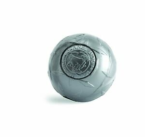 Planet Dog Orbee-Tuff Steel Diamond Plate Ball Toy for Dogs 4 inch
