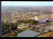 """DAX (40) HOTEL """"SPLENDID"""" , VILLAS & Bords de l'ADOUR en vue aérienne en 1974"""