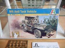 Modelkit Italeri AM6 Anti Tank Vehicle on 1:72 in Box