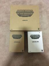 Masters Of The Universe Classics Lot Of 3 MOC Grizzlor Angela Arrow