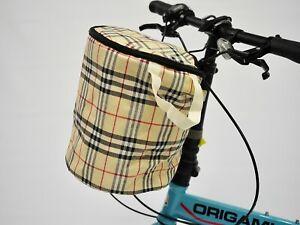 Bike Bicycle large capacity Canvas Handlebar Bag