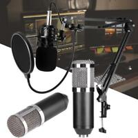 Pro KTV Microphone BM800 Condenser Wired Microphone Audio Studio Recording Mic