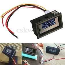 Oled LCD DC 33V 10A Combo Meter Voltage Current Power Capacity Battery Monitor