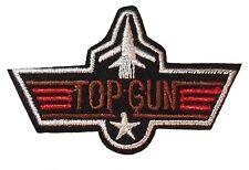 "Top Gun Movie Logo 2 3/4"" Wide Embroidered Patch"