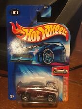 2004 Hot Wheels First Editions Tooned Camaro Z28 1969 Maroon #71
