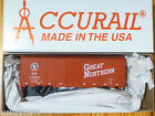 Accurail HO #3509.9 (Rd #34826) GN Great Northern (40' Steel Boxcar) Plastic Kit
