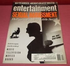 December 6 1991 ENTERTAINMENT WEEKLY MAGAZINE Sexual Harassment *