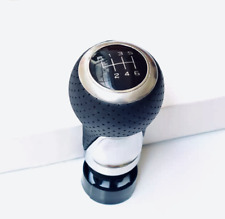 Brand New 6 Speed Leather Gear Knob for Audi VW  S Line R RS