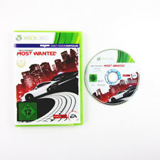 JUEGO XBOX 360 NEED FOR SPEED MOST WANTED (Neues COVER) EN EMBALAJE ORIGINAL SIN