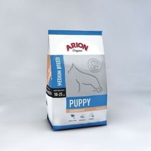 Arion Original Puppy Medium Breed Salmon Puppies Medianos. Pack 2 x 12 KG