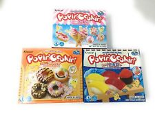 Popin Cookin DIY Candy Kit 3 Pack Variety - Tanoshii Cakes, Sushi and Donuts