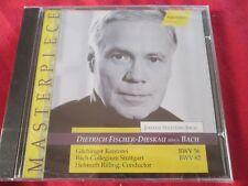 Fischer-Dieskau Sings Bach Johann Sebastian Bach CD94029 HANSSLER CD Album