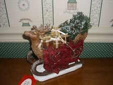 POSSIBLE DREAMS--CLOTHIQUE-2017-REINDEER SLEIGH-NEW IN BOX