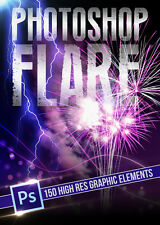 Photoshop Flare - Motion Graphics Still files (same day download)