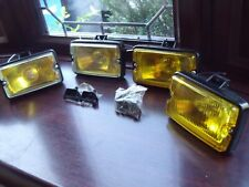 Peugeot 205 GTI driving lights lamps NEW yellow lense & yellow glass x2 pairs #4
