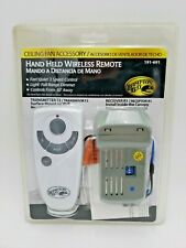 Hampton Bay Hand Held Wireless Remote 191-691 Transmitter T2 and Receiver R1